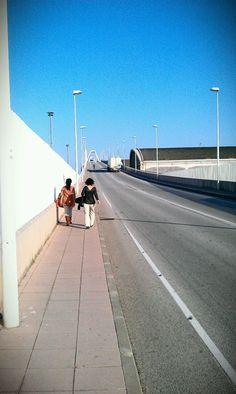 Puente del puerto marítimo de Barcelona!