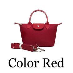 Korean Bags, Longchamp, Red Color, Tote Bag, Facebook, Fashion, La Mode, Fashion Illustrations, Fashion Models