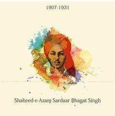Shaheed-e-Azam Sardar Bhagat Singh Ji♥