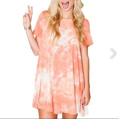 NWT show me your Mumu Gant tunic in peach Because MUMU likes to cuddle too! This is the softest  tunic around. Show Me Your MuMu Tops Tunics