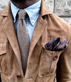 Fancy - Suede Safari Jacket