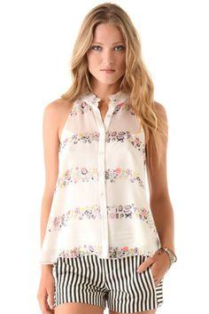 Pretty blouse amazing shorts