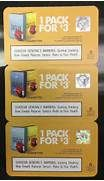 3 American Spirit Cigarette Coupons 1 pack for $3.00 ...