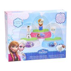Disney Frozen Verf je eigen Sneeuwbol, 3st.