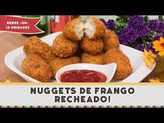 Nuggets de Frango Recheado | Receitas de Minuto - A Solução prática para o seu dia-a-dia!