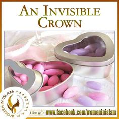 An Invisible Crown.   A short but sweet, self imaginative story which may inspire every couple in general and every muslim couple in specific in some way or the other.  There was a man who used to have a negative attitude towards his wise wife,use to scold her almost daily, over trivial matters.Not to mention,he was a poor lover too.Days passed but there was no big change in his approach.  One day when he was in good mood,his wife sat beside him placing tea and biscuits(little hearts) on the…