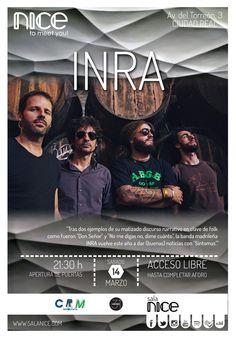 31Canciones presenta a INRA en Sala Nice (Ciudad Real)