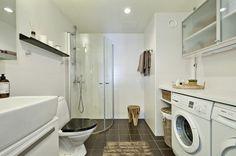 lavandería + baño