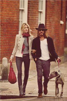 Johnny Depp & Kate Moss ????   for Free People September 2012 (Via: freepeople, fashiongonerogue)