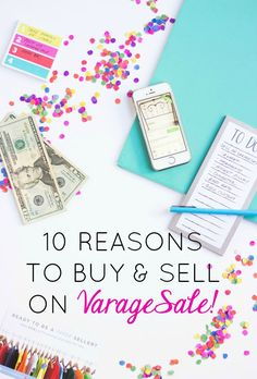 10 reasons to buy and sell on VarageSale - the virtual garage sale community