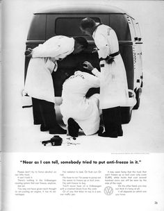 Volkswagen Ad - Anti-Freeze