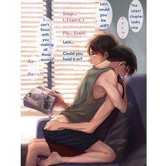Eren reading