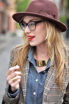 glasses: c/o warby parker
