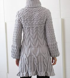 Knitting Pattern: Minimissimi Sweater Coat by MinimiKnitDesign