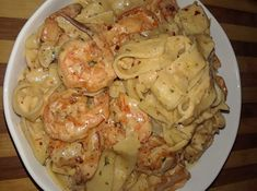 Ζυμαρικά με γαρίδες και σκόρδο