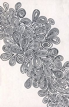 More designy paisley whatnots. Done in pen in a 3 x 6 sketchbook. Doodle Art Drawing, Zentangle Drawings, Doodles Zentangles, Mandala Drawing, Art Drawings, Paisley Drawing, Zantangle Art, Pen Art, Doodle Patterns