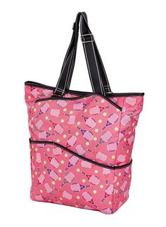 Check out our Pink Sydney Love Ladies Serve It Up Large Tennis Tote Bag! Find the best tennis gear and accessories at Lori's Golf Shoppe. Click through now to see this Tote Bag!