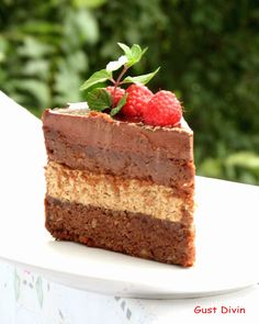 .: Tort Coffe-Chocolate Something Sweet, My Recipes, Food Inspiration, Nutella, Tiramisu, Cheesecake, Deserts, Coconut, Sweets