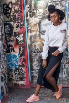 Calling all casual Queens! This crop sweater is the ultimate go to clothing accessory for an edgy dress down look . Features an ultra soft inner and full length sleeves. Pair with your favourite leggings and takkies for an ultimate athleisure look. Made in South Africa Cropped Sweater, Grey Sweater, Edgy Dress, Embroidered Badges, Collar And Cuff, Athleisure, South Africa, Queens, Leggings