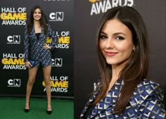 Victoria Justice In Ted Baker - Cartoon Network's Fourth Annual Hall Of Game Awards. Re-tweet and favorite it here: https://twitter.com/MyFashBlog/status/435006079139737601/photo/1