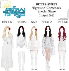 Bittersweetofficial on ShopLook Fashion Idol, Kpop Fashion Outfits, Stage Outfits, Dance Outfits, Kpop Girl Groups, Kpop Girls, Outfit Maker, Crazy Girls, Polyvore Outfits