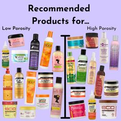 Natural Hair Growth Tips, Natural Hair Tips, Natural Hair Styles, Curly Hair Tips, Curly Hair Care, 4c Hair, Low Porosity Hair Products, Afro Hair Products, Healthy Relaxed Hair