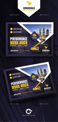 Construction Flyer Design Templates - Corporate Flyers Design Template PSD, InDesign INDD. Download here: https://graphicriver.net/item/construction-flyer-templates/19351765?ref=yinkira