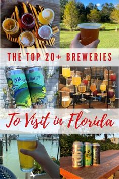 If you like craft beer, find out all the best Florida breweries to visit! This list includes over 20 amazing places to find craft beer in Florida #craftbeer #floridabreweries Visit Florida, Florida Vacation, Florida Travel, Florida Food, Central Florida, Travel With Kids, Family Travel, Funky Buddha Brewery, Spring Break Trips