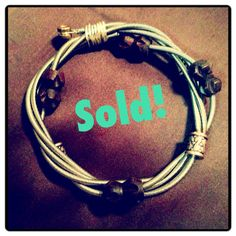 Retired Guitar String Bracelet Bangle with by BelaSiBoutique, $22.00