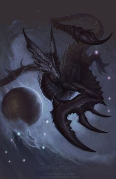 Zodiac Dragon . Scorpio by =The-SixthLeafClover on deviantART