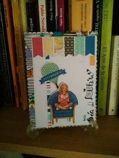 Mi Scrap: día del libro card Bookends, Card Making, Scrapbook, Blog, Decor, Cardmaking, Voyage, Art, Decoration