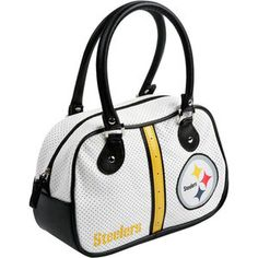 Pittsburgh Steelers Bowler Bag Purse = Ok this IS FUN! Dress me up for Game Day!