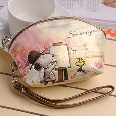Snoopy SNOOPY 2013 coin purse cartoon coin case mobile phone bag clutch $18.32