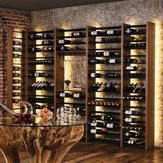 Parallel Wine Racking Kit Large Wine Cellar Design Wine Rack