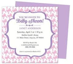 Baby Shower Invitations For Word Templates Entrancing Image Result For Diy Baby Shower Clipart  Template  Pinterest .