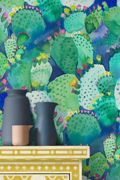 Fabulous Cactus wallpaper design by the very talented bluebellgray.