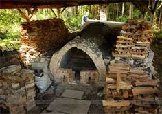 Anagama Pottery, Japan - a traditional climbing wood-fired kiln