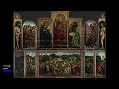 Van Eyck, Ghent Altarpiece (1 of 2) - YouTube