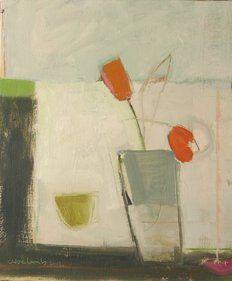 "Chloe Lamb ""Orange Tulips"""