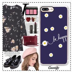"""""""Happy Daisy 😊"""" by casetify ❤ liked on Polyvore featuring MANGO, Shinola, Bobbi Brown Cosmetics, Betsey Johnson and Casetify"""