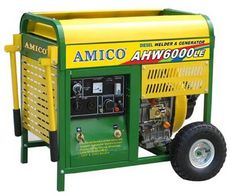 AMICO AHW6000LE Power 6000W Generator With Welder