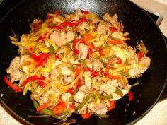Filet mignon à la sichuanaise Wok, Paella, Sprouts, Cauliflower, Vegetables, Ethnic Recipes, Diners, Ainsi, Charlotte