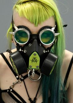 DSF+Cyber+Goth+gas+Mask+Bio+Plate+Spike+respirator+by+DSFUSION