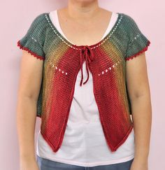 Ravelry: The Other Side of the Rainbow Machine Knitting pattern by Patricia Tan