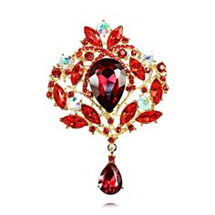 Брошь под золото, Queen оптом и в розницу купить в Интернет-магазине бижутерии www.iloveme.su
