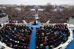 President Obama delivers his inaugural address at the U.S. Capitol in Washington,D.C.,1/21//2013.