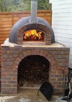 Kilnlinings eay listing for Wood fired oven kit - £1,499 self assemble