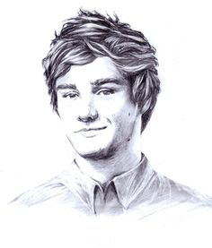 ∞ One Direction [1D] → Liam Payne Illustration by ~dariemkova on deviantART