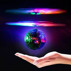 OWIKAR RC Flying Ball Toy, RC Infrared Induction Helicopter Ball Built-in Shinning LED Lighting for Kids, Teenagers Colorful Mini Aircraft Flashing Light Remote Toys for Kids Children Gift >>> Check out this great product.