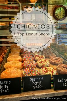 Chicago, Illinois, USA | Midwest Travel | Best Donuts in Chicago | Chicago Donut Shops | Chicago Doughnut Shops #Chicago #Donuts #midwesttravel